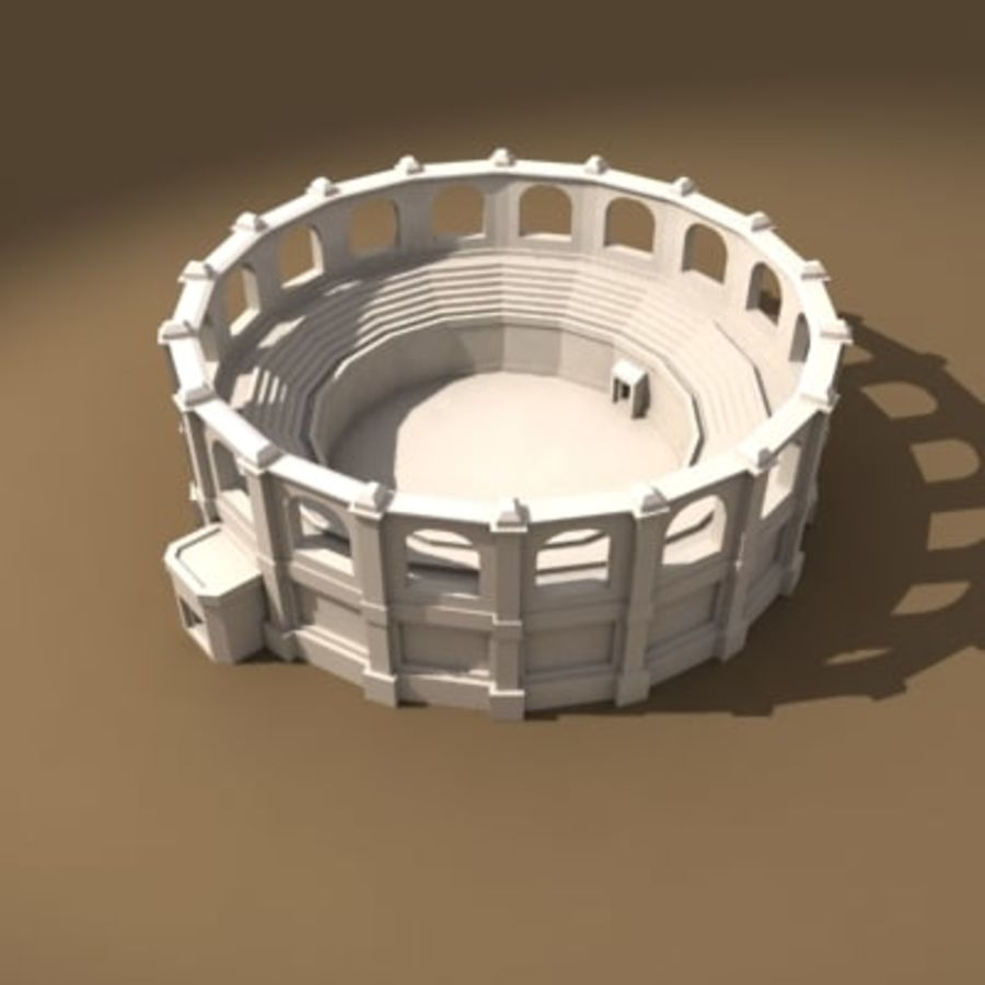 Arena royalty-free 3d model - Preview no. 1