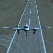 航空機の離着陸 3d model
