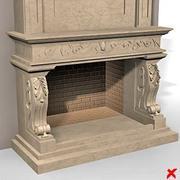 暖炉013_max 3d model