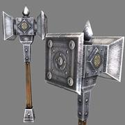 double_hammer 3d model
