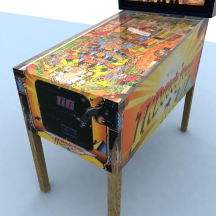 Indiana Jones Pinball 3D Model $30 -  max - Free3D