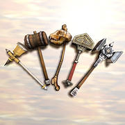 hammers_collection 3d model