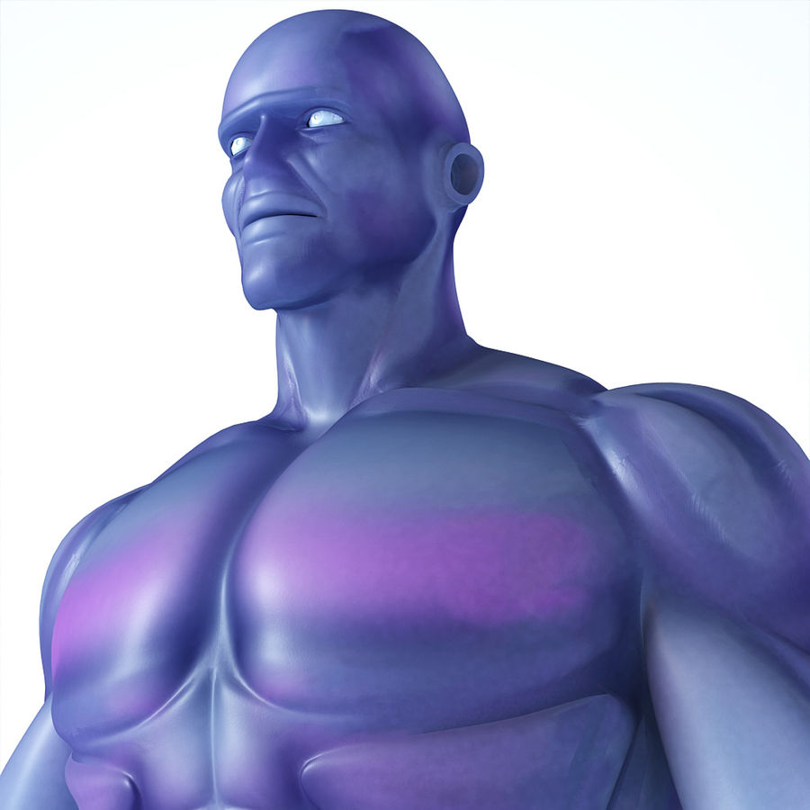 Cyborg royalty-free 3d model - Preview no. 4