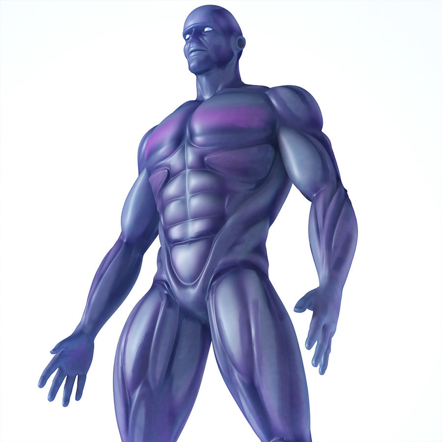 Cyborg royalty-free 3d model - Preview no. 1