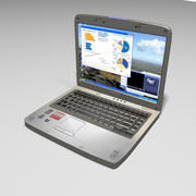 Toshiba Laptop 3d model