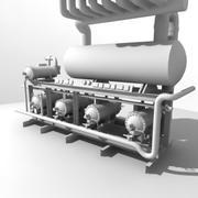 sprężarki 3d model