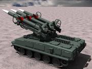 Ruso SA-6 modelo 3d
