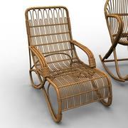 Wooden Furniture 2 3d model