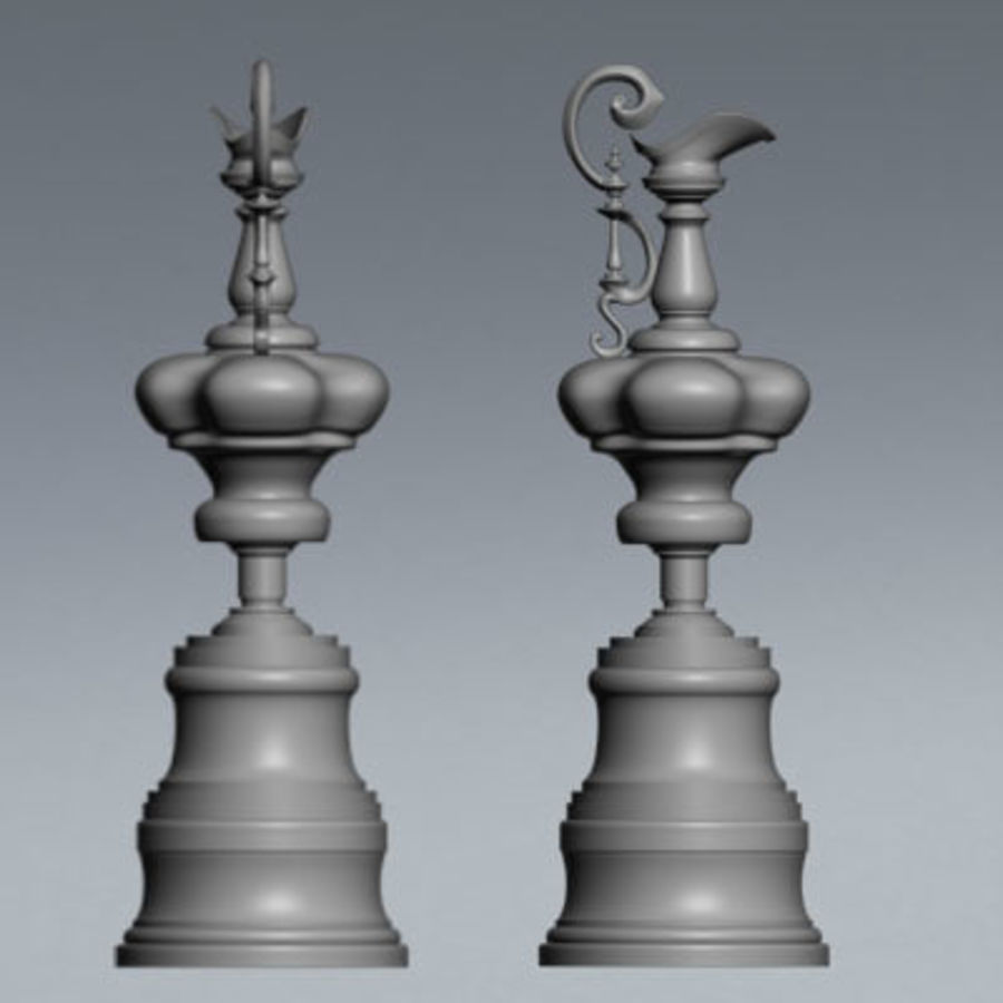 Trofeo Coppa America royalty-free 3d model - Preview no. 4