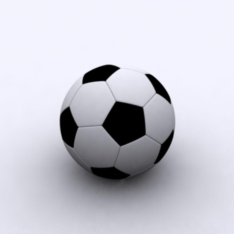 Fútbol americano royalty-free modelo 3d - Preview no. 1