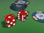 żetony do kasyna 3d model