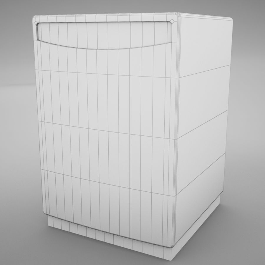 Dishwasher royalty-free 3d model - Preview no. 13