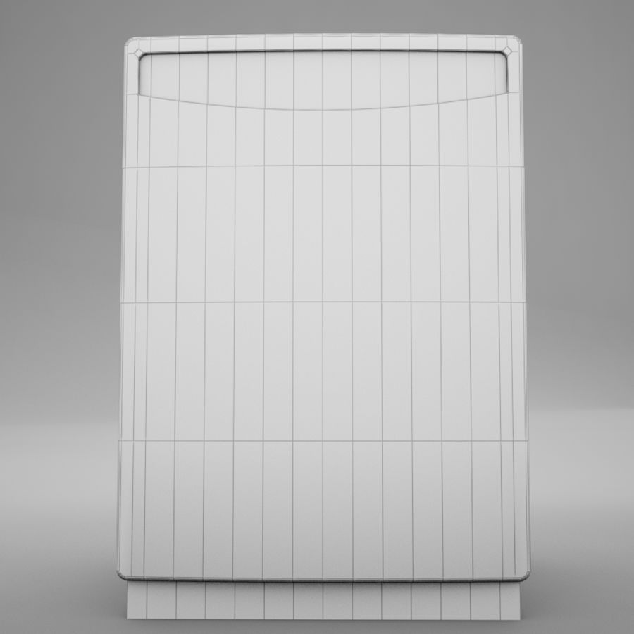 Dishwasher royalty-free 3d model - Preview no. 15