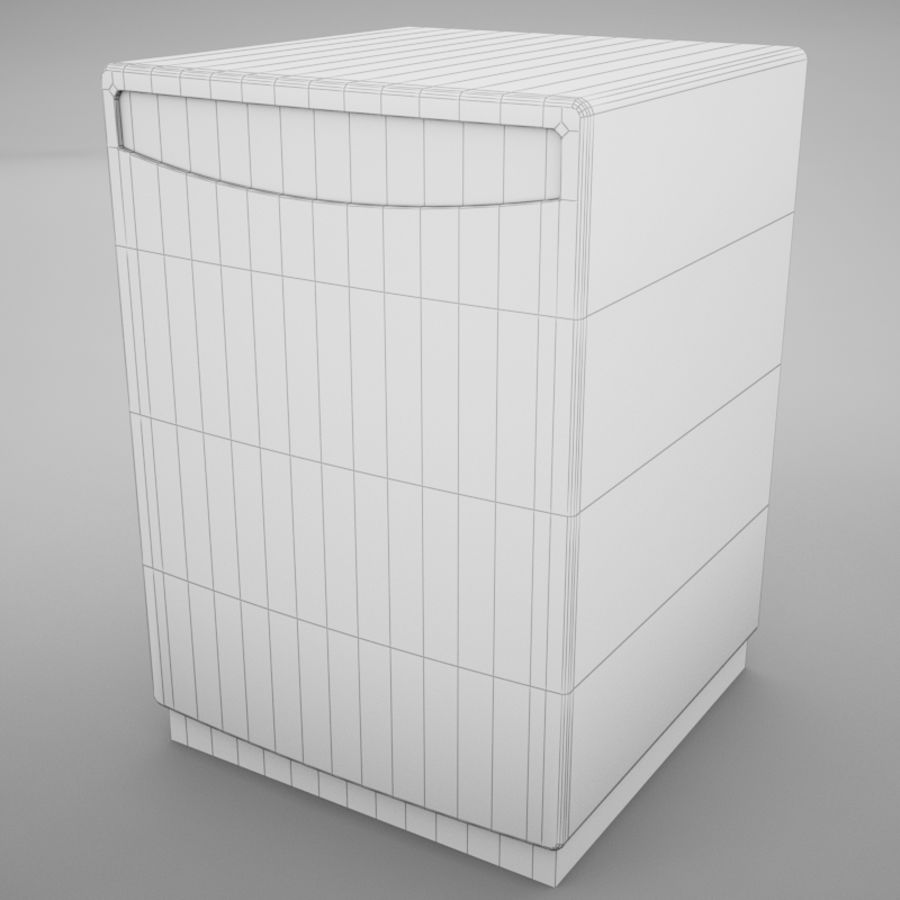 Dishwasher royalty-free 3d model - Preview no. 16