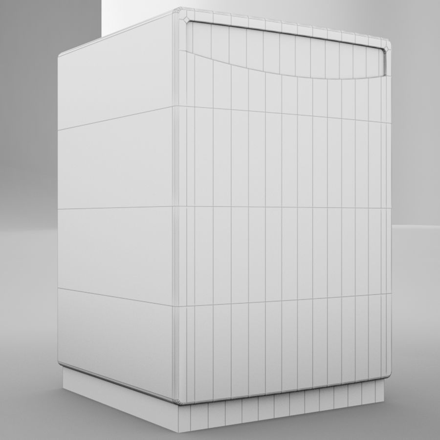 Dishwasher royalty-free 3d model - Preview no. 19