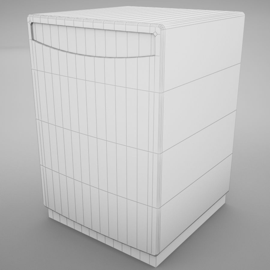 Dishwasher royalty-free 3d model - Preview no. 12
