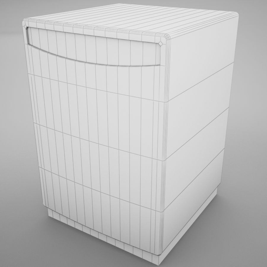 Dishwasher royalty-free 3d model - Preview no. 10