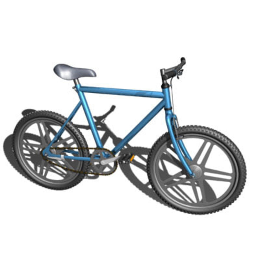 Bicycle royalty-free 3d model - Preview no. 4