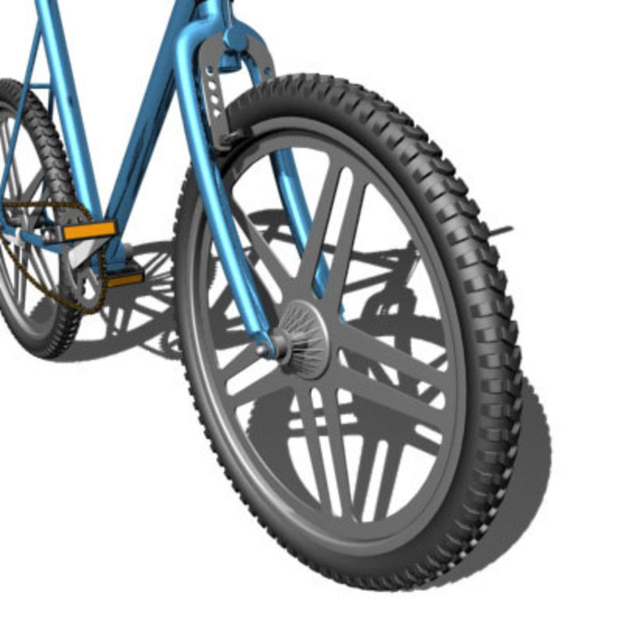 Bicycle royalty-free 3d model - Preview no. 7