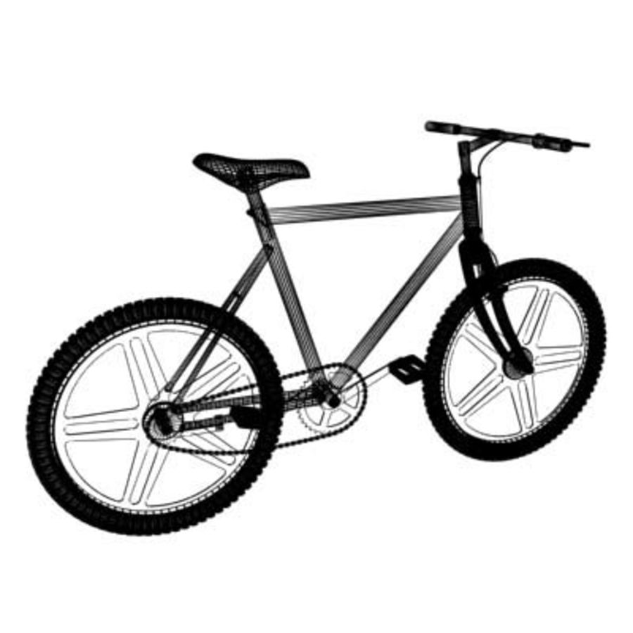 Bicycle royalty-free 3d model - Preview no. 3