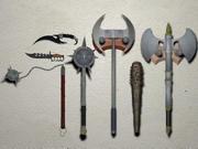 Armes de corps à corps 3d model