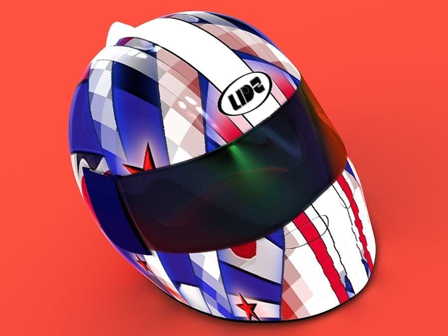 Crash Helmet royalty-free 3d model - Preview no. 1