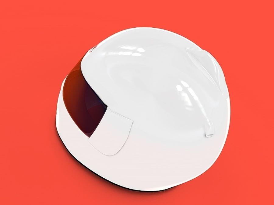 Crash Helmet royalty-free 3d model - Preview no. 2