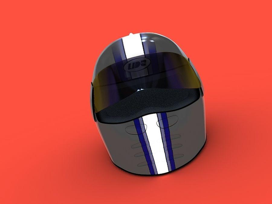 Crash Helmet royalty-free 3d model - Preview no. 3