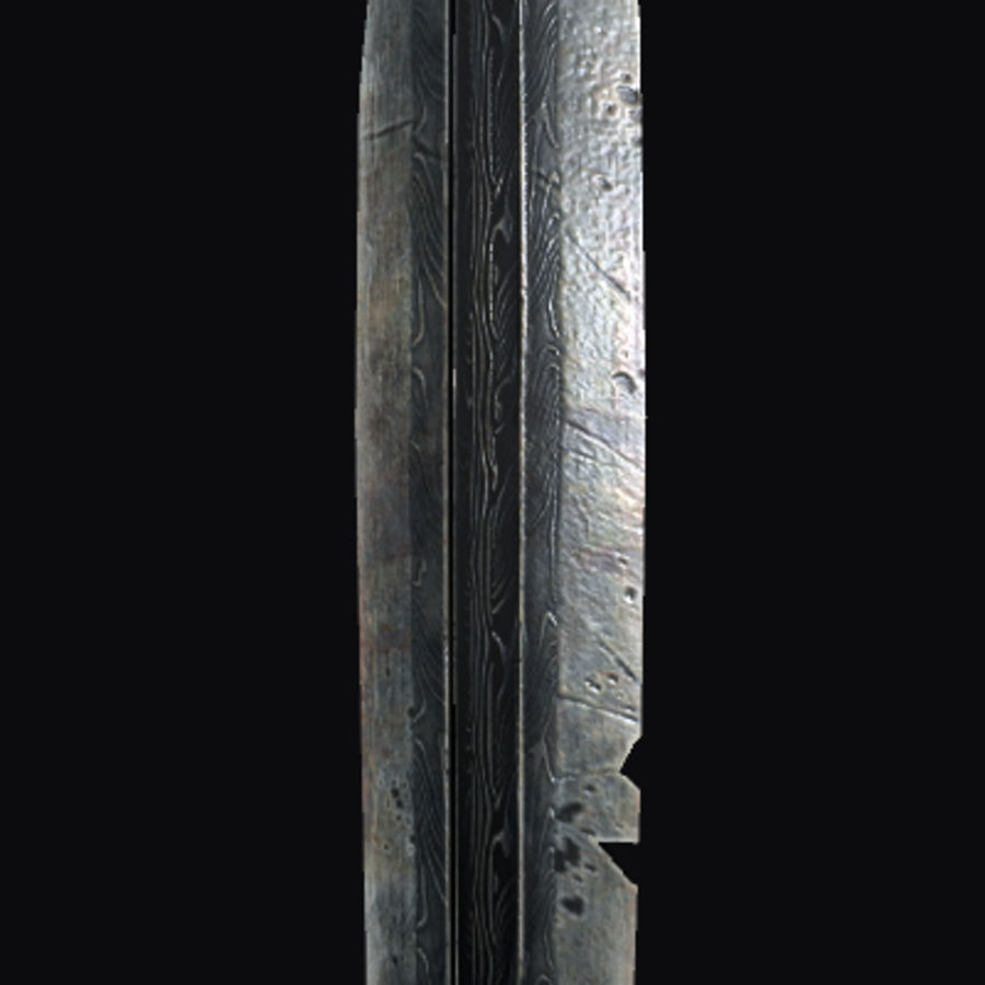 Viking Sword royalty-free 3d model - Preview no. 4