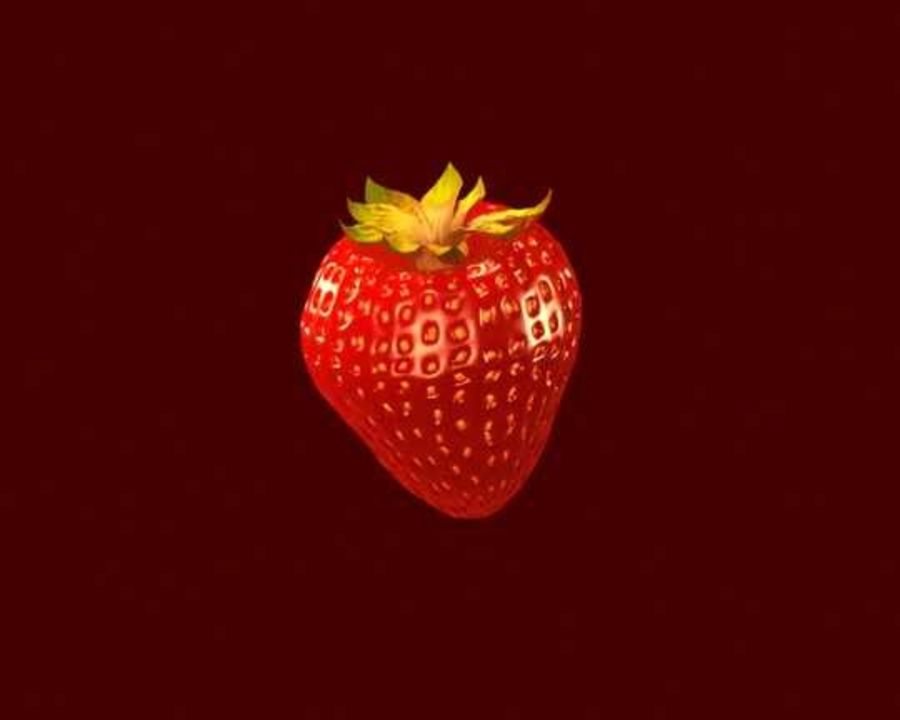 Fragola. royalty-free 3d model - Preview no. 13