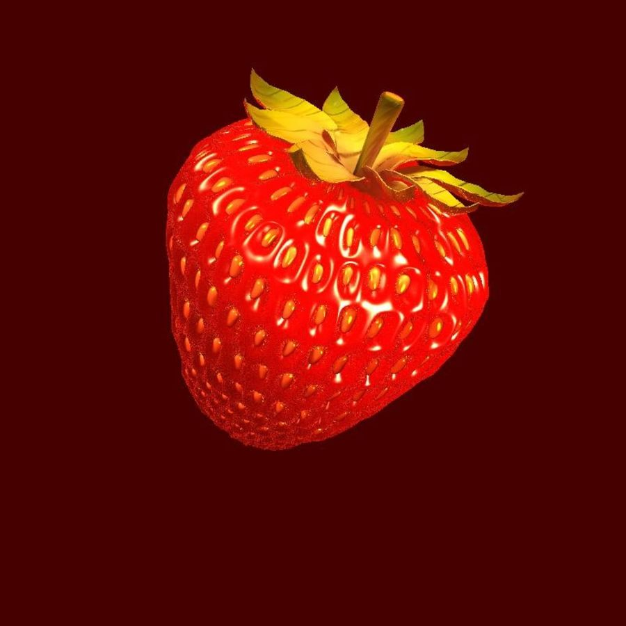 Fragola. royalty-free 3d model - Preview no. 1