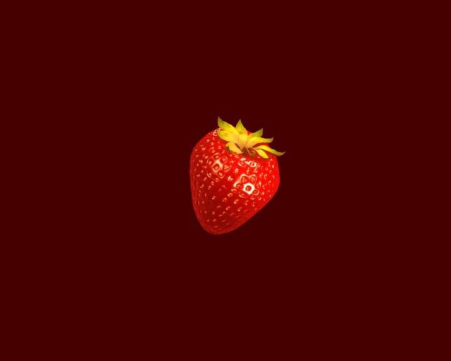 Fragola. royalty-free 3d model - Preview no. 14
