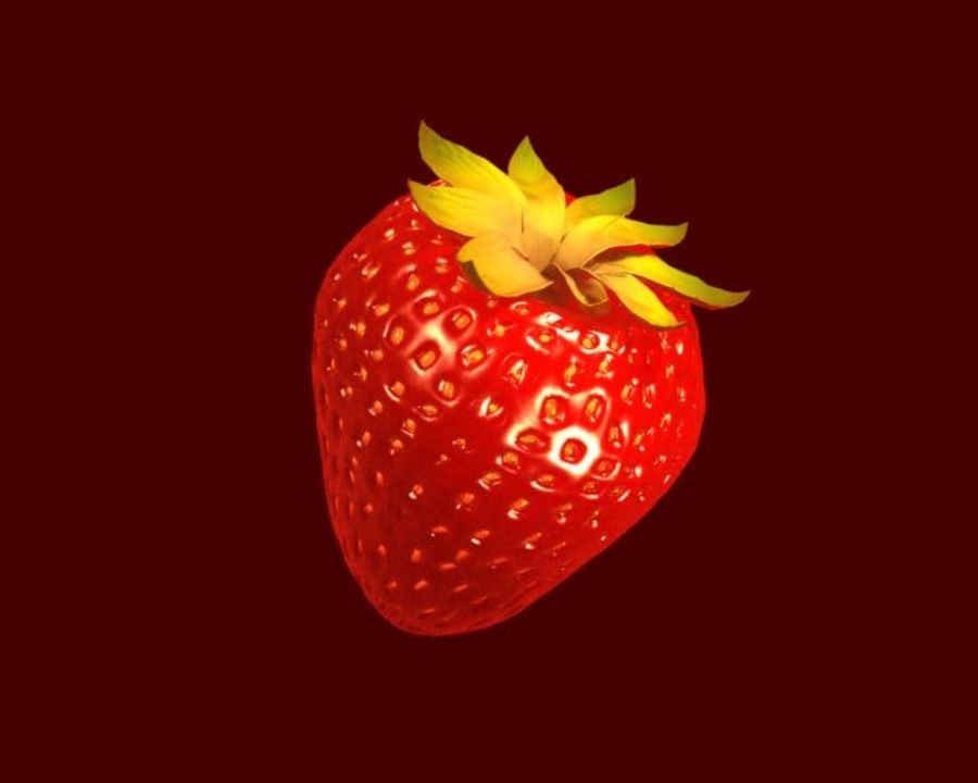 Fragola. royalty-free 3d model - Preview no. 17