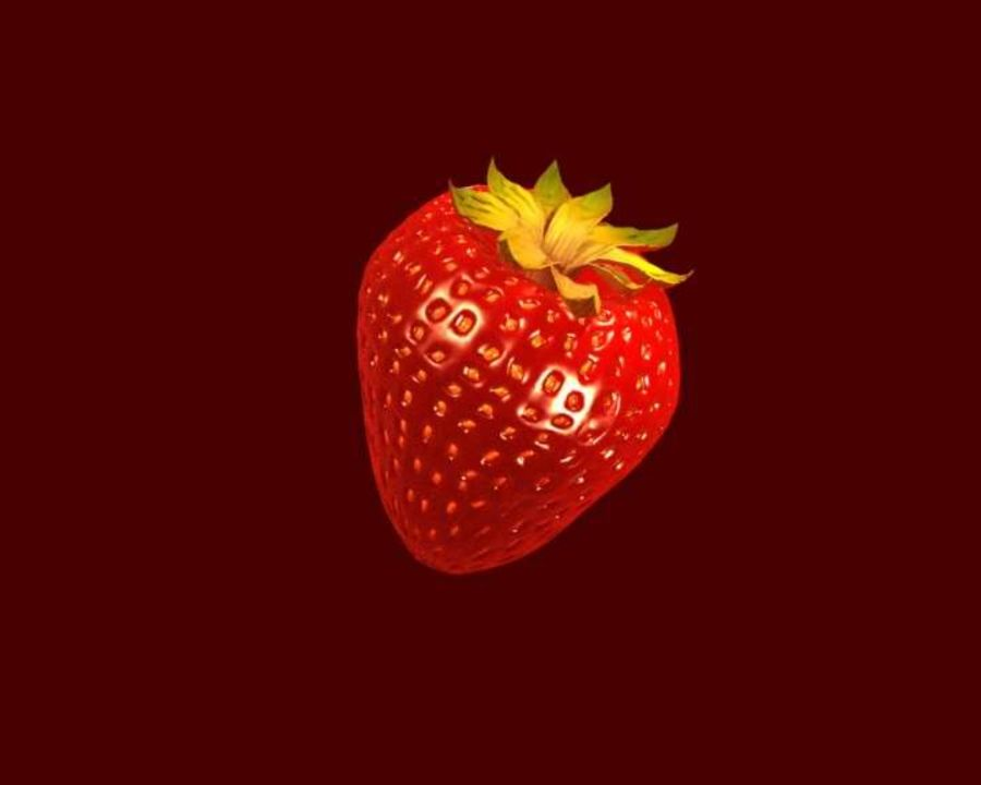 Fragola. royalty-free 3d model - Preview no. 8