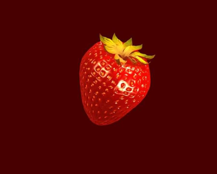 Fragola. royalty-free 3d model - Preview no. 6