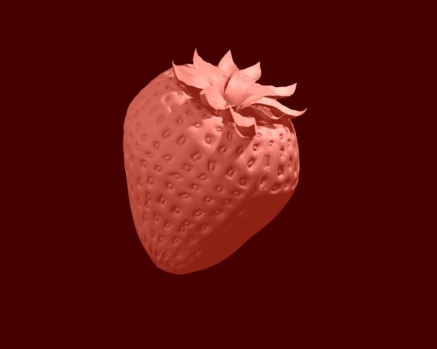 Fragola. royalty-free 3d model - Preview no. 16