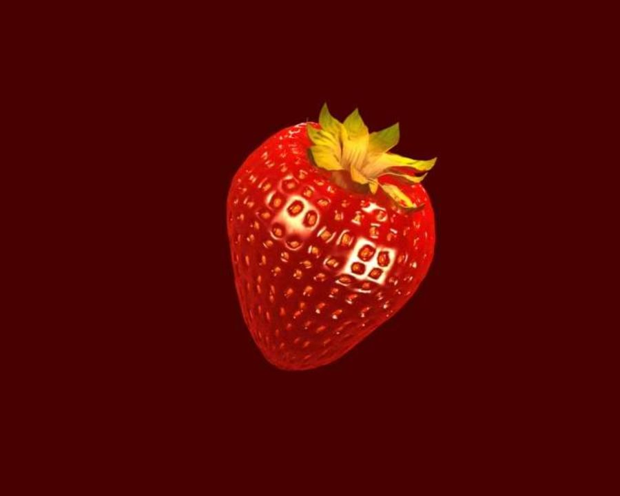 Fragola. royalty-free 3d model - Preview no. 11