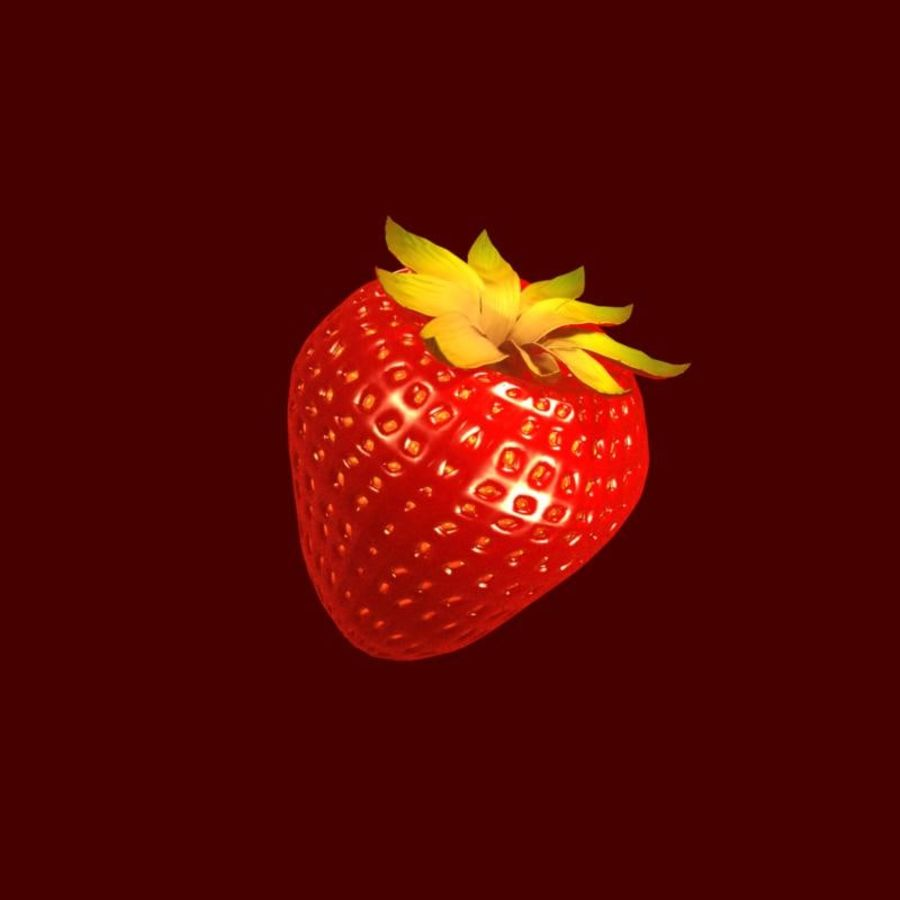Fragola. royalty-free 3d model - Preview no. 18