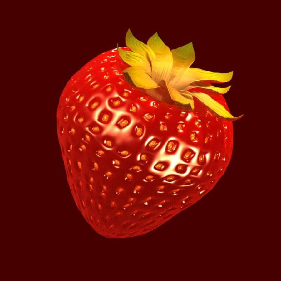 Fragola. royalty-free 3d model - Preview no. 19