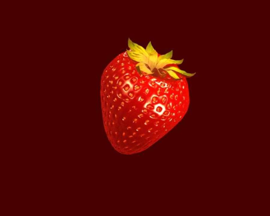Fragola. royalty-free 3d model - Preview no. 3