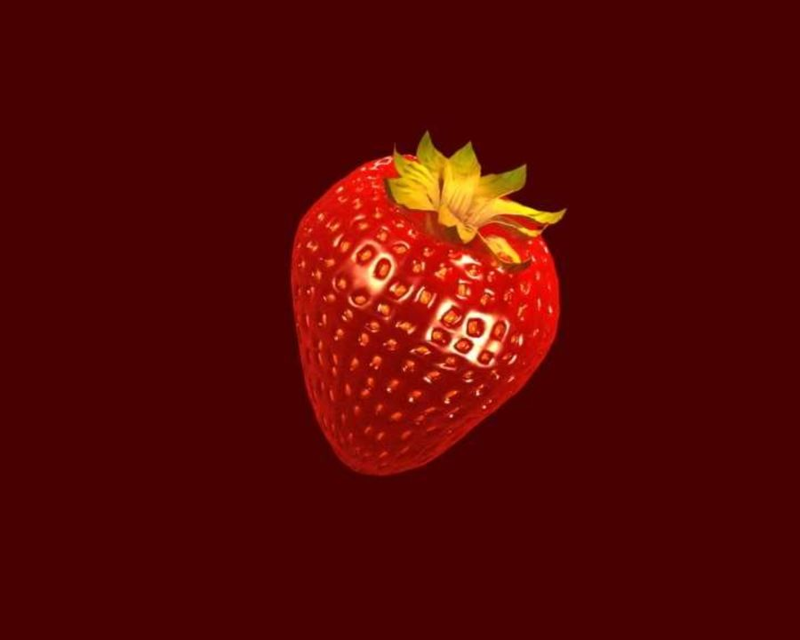 Fragola. royalty-free 3d model - Preview no. 10