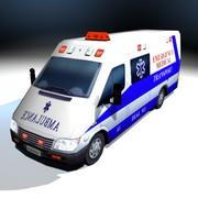 VS02 Ambulance 2 3d model