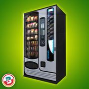 零售 - 自动售货机3 3d model