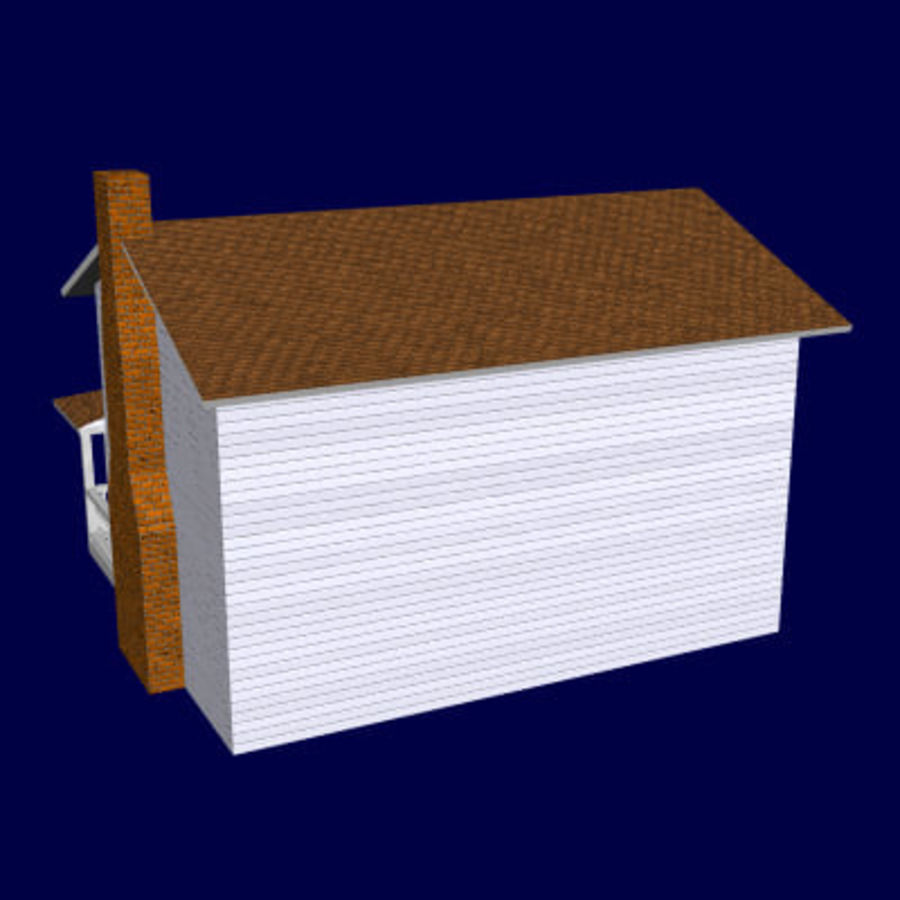 country_house.lwo royalty-free 3d model - Preview no. 4