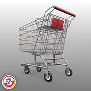 Retail - Shopping Cart 3d model
