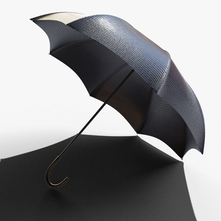 Open Umbrella royalty-free 3d model - Preview no. 1