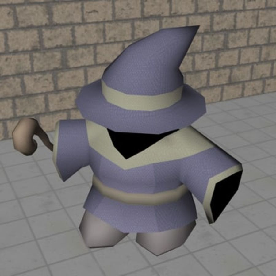 ACC Mage royalty-free 3d model - Preview no. 1