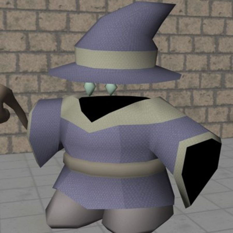ACC Mage royalty-free 3d model - Preview no. 5