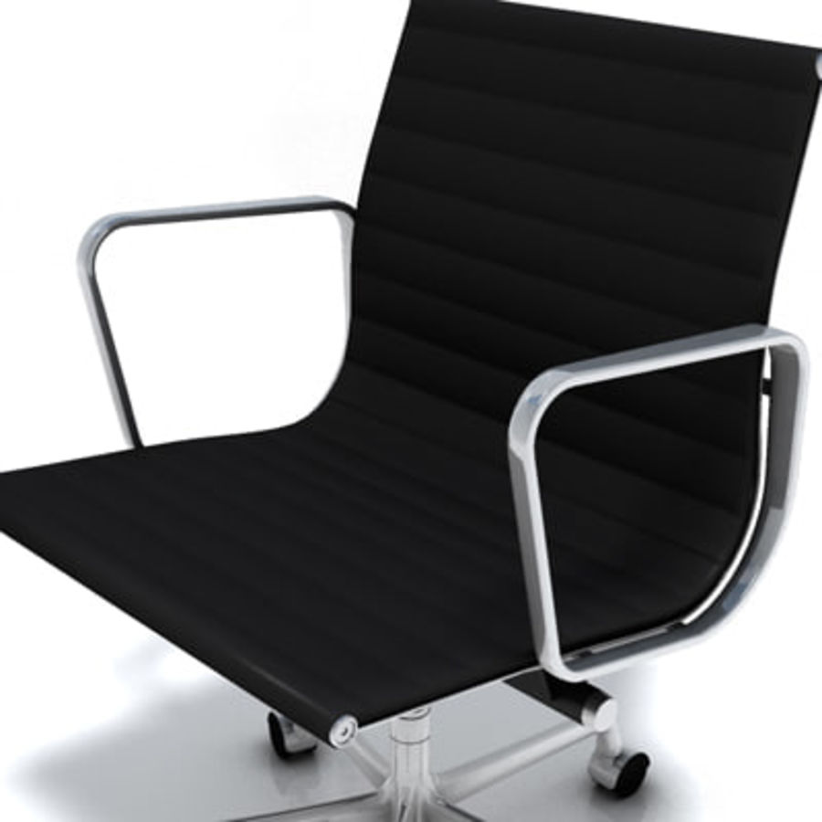 Eames Managment Chair royalty-free 3d model - Preview no. 6