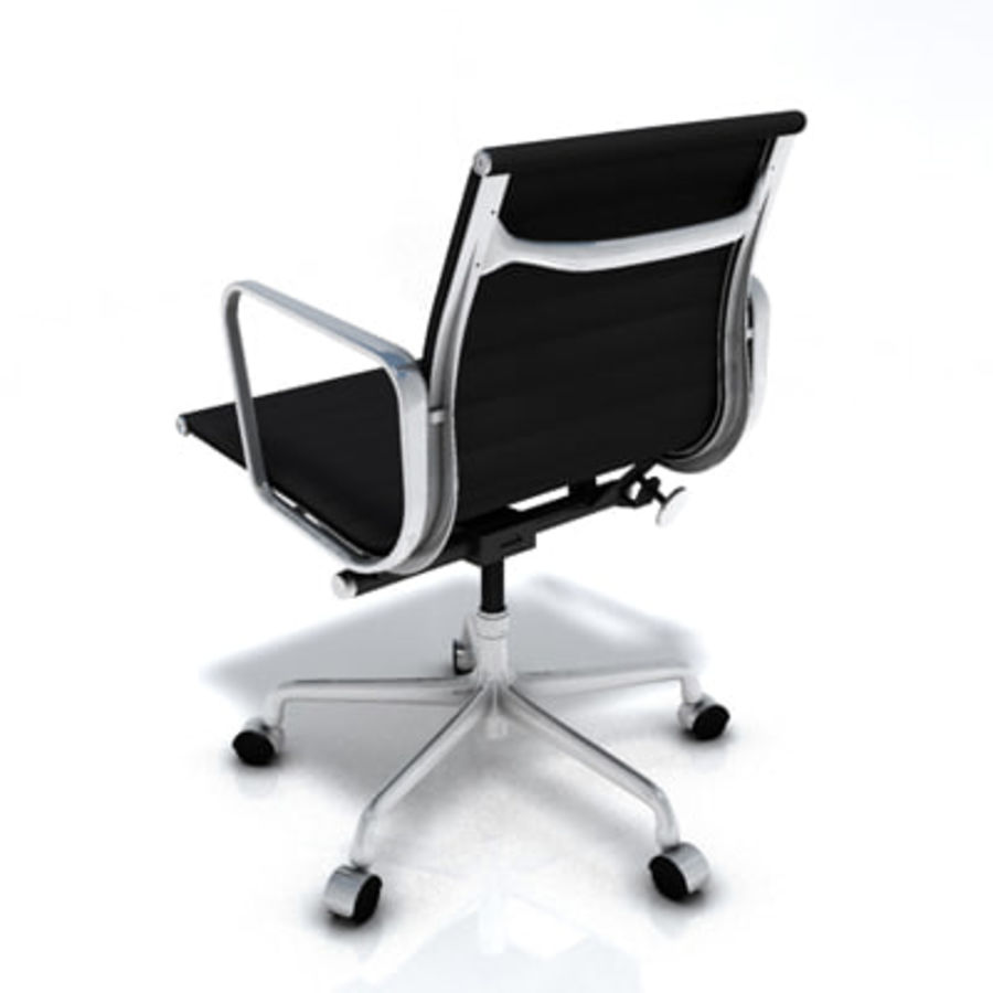 Eames Managment Chair royalty-free 3d model - Preview no. 10